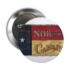 """NC Flag Faded 2.25"""" Button"""