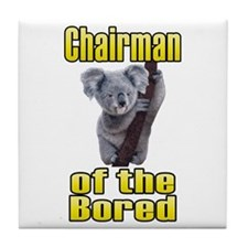 Chairman of the Bored Tile Coaster