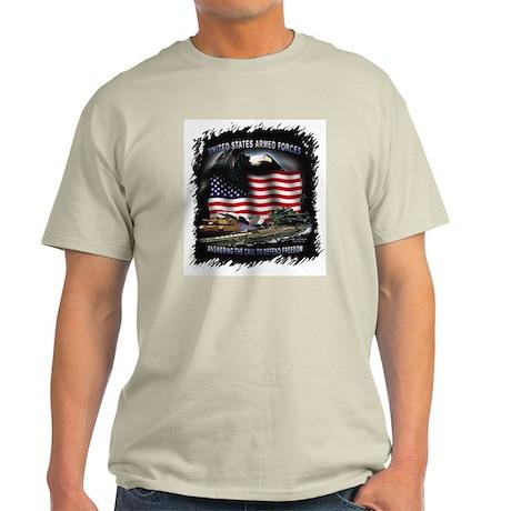 """Answer the Call"" Image Ash Grey T-Shirt"