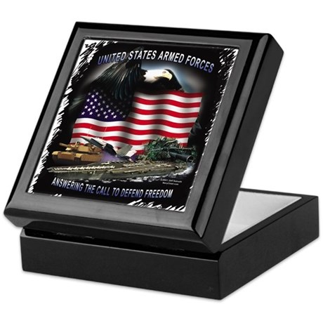 """Answer the Call"" Image Keepsake Box"