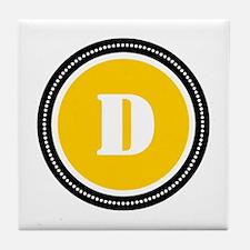 Yellow Tile Coaster