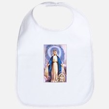Miraculous Medal of Mary Bib