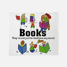 Books Bedtime Throw Blanket