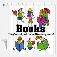 Books Bedtime Shower Curtain