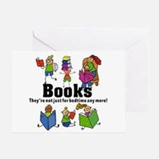 Books Bedtime Greeting Card