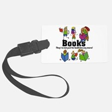 Books Bedtime Luggage Tag