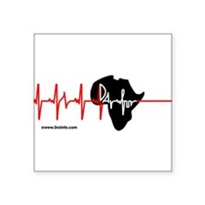 DARFUR - ALL PROCEEDS GO TO SaveDarfur.org Sticker
