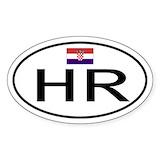 Croatian Bumper Stickers