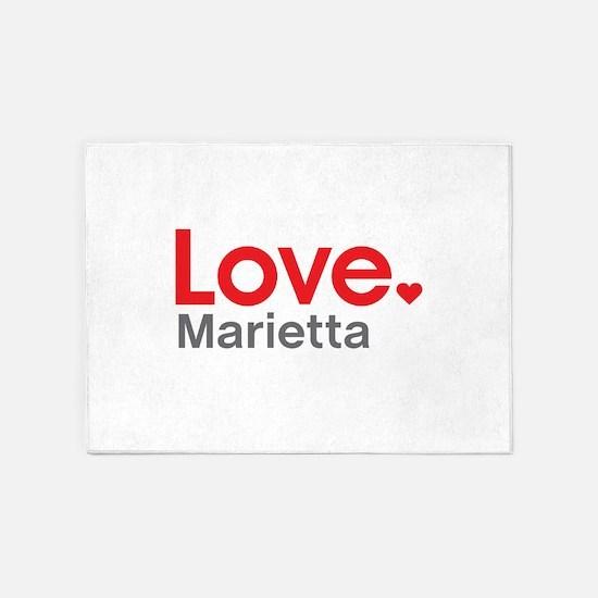 Love Marietta 5'x7'Area Rug