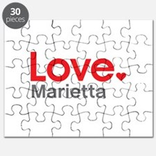 Love Marietta Puzzle