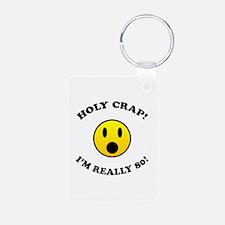 Holy Crap I'm 80! Keychains