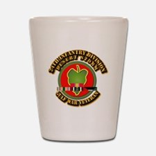 Army - DS - 24th INF Div Shot Glass