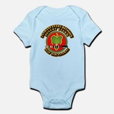Army - DS - 24th INF Div Infant Bodysuit