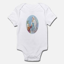 Virgin Mary - Lourdes Infant Bodysuit