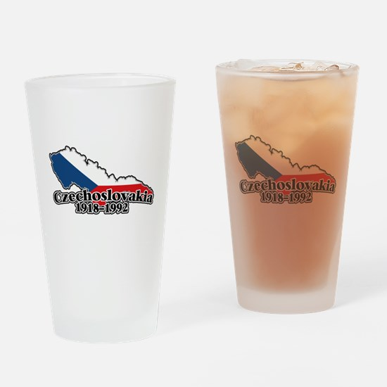 Czechoslovakia Logo (1918-1992) Drinking Glass