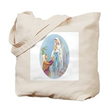 Virgin Mary - Lourdes Tote Bag