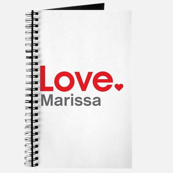 Love Marissa Journal