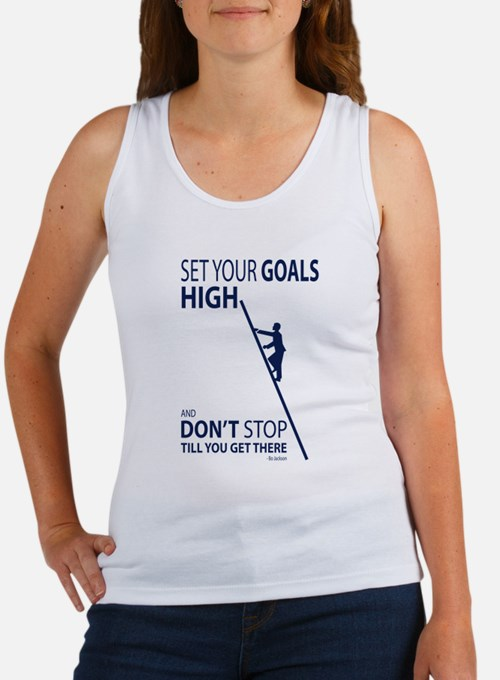 Don't stop till you get there Tank Top