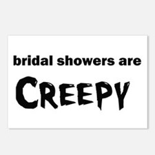 bridal showers Postcards (Package of 8)