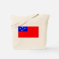Samoa Samoan Blank Flag Tote Bag