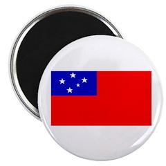 Samoa Samoan Blank Flag Magnet