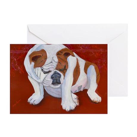 Babycakes a Bulldog Greeting Cards (Pk of 10)