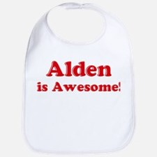 Alden is Awesome Bib