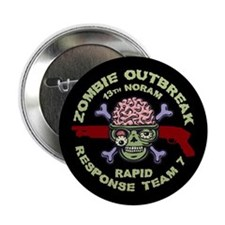 "Zombie Response Team 7 2.25"" Button"