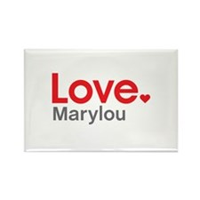 Love Marylou Rectangle Magnet (100 pack)