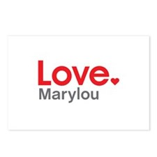 Love Marylou Postcards (Package of 8)