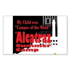 Alcatraz Summer Camp Decal