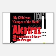 Alcatraz Summer Camp Decal