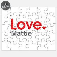 Love Mattie Puzzle