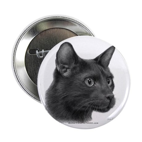 "Havana Brown Cat 2.25"" Button (100 pack)"