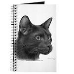 Havana Brown Cat Journal