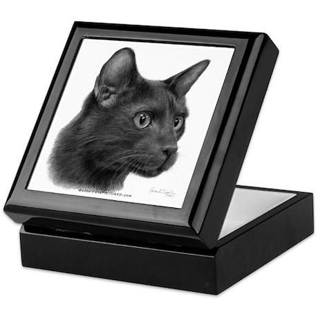 Havana Brown Cat Keepsake Box