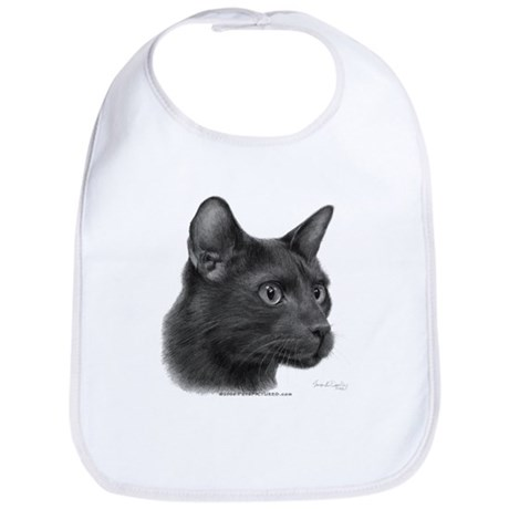 Havana Brown Cat Bib