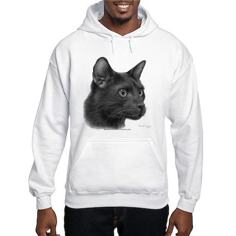 Havana Brown Cat Hooded Sweatshirt