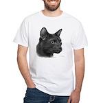 Havana Brown Cat White T-Shirt