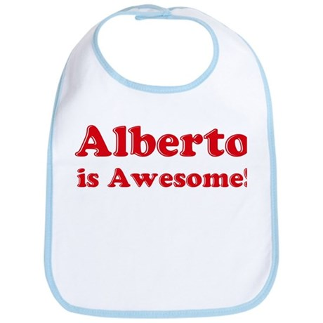 Alberto is Awesome Bib