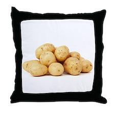 F & V - Potato Design Throw Pillow