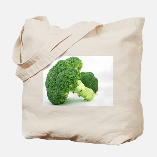 F & V - Broccoli Design Tote Bag