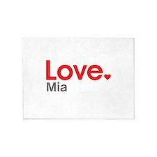 Love Mia 5'x7'Area Rug