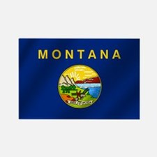 Flag of Montana Rectangle Magnet
