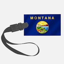 Flag of Montana Luggage Tag