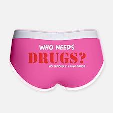 Drugs Women's Boy Brief