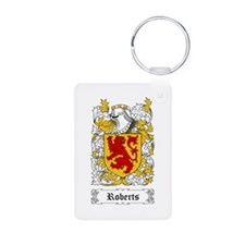 Roberts [Welsh] Aluminum Photo Keychain