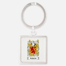 Roberts [Welsh] Square Keychain