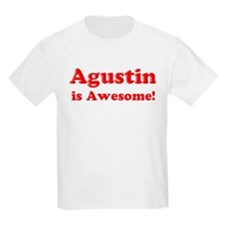 Agustin is Awesome Kids T-Shirt