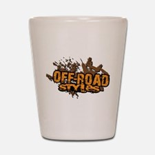 Off-Road Styles Crush The Odds logo Shot Glass